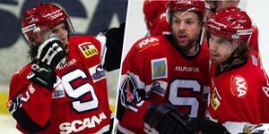 Samuelsson jublar. Han gjorde 26 på totalt 39 matcher den säsongen. Foto: Bildbyrån.