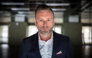 Mattias Olofsson ser gärna att de övriga myndigheterna flyttar in tillsammans med Arbetsförmedlingen i de nästan 1500 kvadratmeter stora lokalerna i Koppardalen.