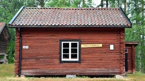 Naturligtvis har Sunnansjö Hembygdsgård en snickarbod.