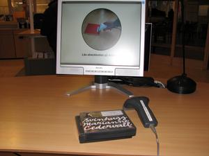 Klockan 11:11 idag var jag på biblioteket i Ljusdal och lämnade tillbaka ljudböcker. MVHCarina Larsson, Järvsö