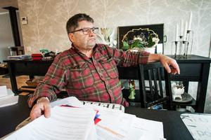 Reidar Nordfjell säger att han inte kunde medverka till ett beslut som på sikt skulle kunna urholka samernas uråldriga rätt att bruka marken i renbetesområdena.