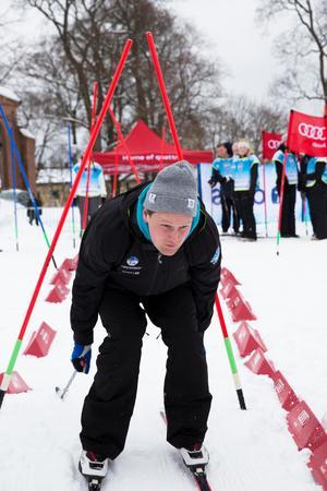 Johan Linneaus bor i Falun men jobbar med Alla på snö över hela landet.