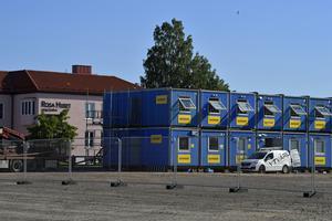 Den nya etableringen av genomfartsbygget i Mora är igång.