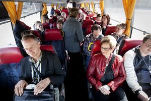 Helgtrafiken i stora delar av Kramfors med buss försämras kraftigt. Den varningen kommer från Företagarna.