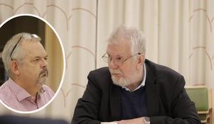 Vänsterpartiet vill höja skatten med 40 öre för att klara en rimlig välfärd i Nora, menar David Stansvik (V). Men Tom Rymoen (M) menar att Nora klarar besparingar på 30 miljoner på tre år utan att behöva höja skatten.
