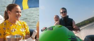 Två tjejer från Dalarna är kvar i Bonde söker fru. Båda hoppas på kärlek hos getbonden Oscar. Foto: TV4