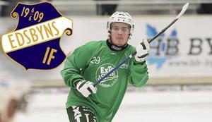 Joel Wilhelmsson vänder hem till Edsbyn den här säsongen – för att spela med nystartade Edsbyn-Alfta.