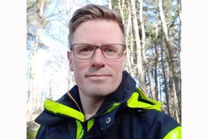 Magnus Pettersson, tillsynsspecialist på Skogsstyrelsen.