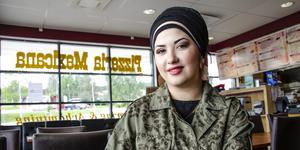 Shirin Hassan har övertagit Pizzeria Mexicana, som hon tänker flytta och utvidga på en ny plats i Nacksta Centrum.
