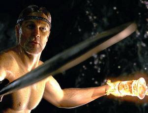 Sagan om Beowulf lever fortfarande, som i denna film från 2007 med samma namn.