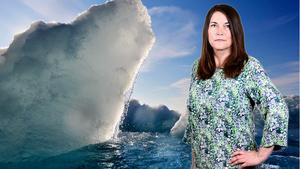Isarna i Arktis smälter snabbare än man hittills förutspått. Foto: AP/David Goldman
