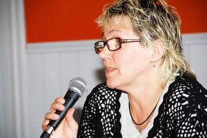 Jag har fått frågor om att byta parti, förklarar Solveig Wiberg, men det är inte aktuellt tillägger hon.