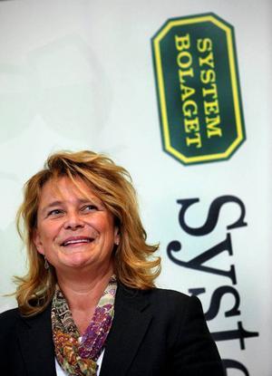 Magdalena Gerger med rötterna i Jämtland är ny vd i Systembolaget. Foto: scanpix