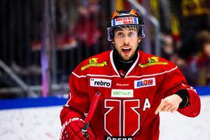 Aaron Palushaj lämnade Brynäs för Örebro. Foto: Johan Bernström / Bildbyrån