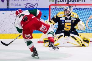 Mora överlistade SSK och Alexander Sahlin på fredagen. Foto: Bildbyrån.