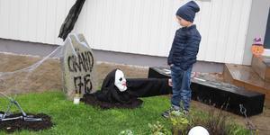Årets nytillskott zombienunnan skrämmer inte femåriga Sture.