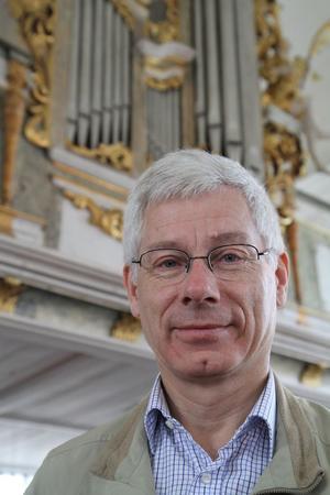 Professor Hans Fagius avslutar helgens orgelfestival med en stor konsert i Domkyrkan. Foto: Pressbild