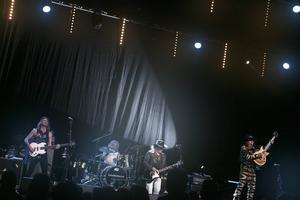 Sweetm Slade och Smokie spelade i Tegera Arena 2017.
