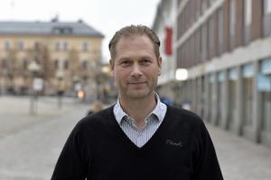 Jimmie Lagerqvist, skadeförebyggare trafik, på Dalarnas Försäkringsbolag.