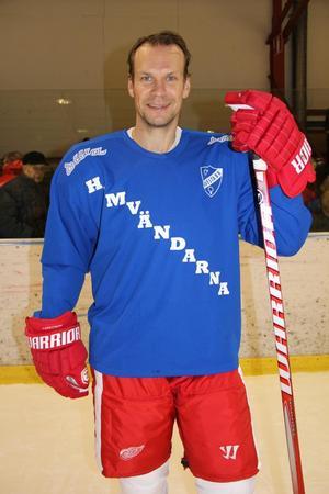 Nicklas Lidström spelade i hemvändarmatchen 2012. Det återstår att se om