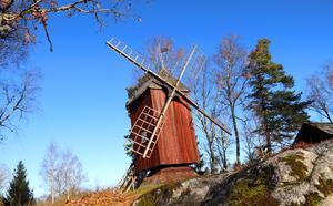 Väderkvarnen vid Erikskulle.