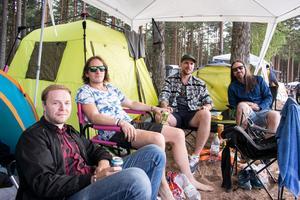Lucifer och Asteroid planerar Mattias Linder samt Emil, Andreas och Magnus Stenqvist att se.