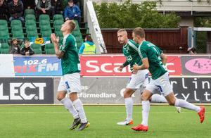 Anton Lundin, Mattias Liljestrand och Alexander Zetterström kunde alla njuta av tre poäng efter matchen mot Öster.