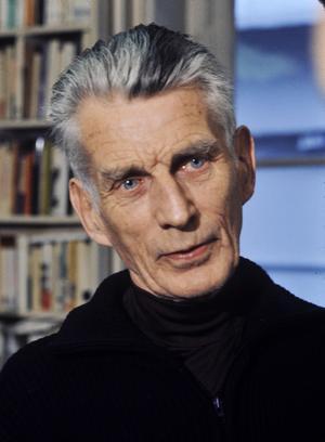 Den irländske dramatikern Samuel Beckett 1977. Foto: Roger Pic