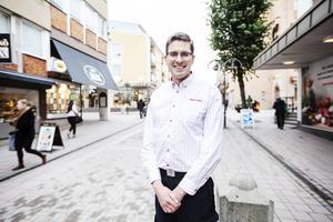 Mattias Bast, handlare Hemköp Härnösand.