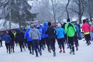 179 löpare hade anmält sig till årets Sylvesterlopp.