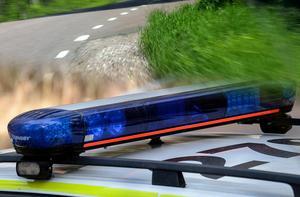 Dödsolycka söder om Garpenberg. En person anhållen misstänkt för grovt vållande till annans död.