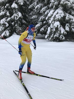 Förra vintern deltog Alva Sköld i ungdoms-OS. I år siktar hon mot junior-VM och -EM.