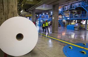 Iggesunds bruks kartong levereras på stora rullar. Det anses vara den finaste kartongen i världen och företaget har fått flera utmärkelser för sitt miljöarbete.