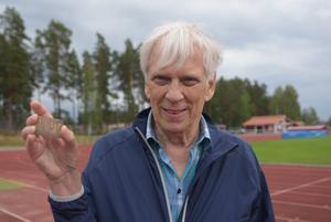 Curt Sjödahl har idag ett stort idrottsintresse.