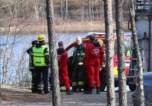 Räddningstjänsten och ambulans larmades på ett drunkningstillbud på onsdagen.