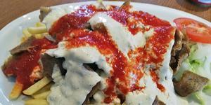 Kebab rätt och slätt. Foto: Lunchkollen