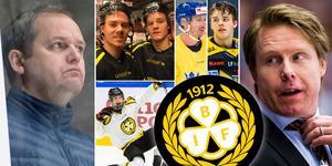 Några av huvudfigurerna i Hockeypuls stora analys. Foto: Magnus Lejhall/Bildbyrån.