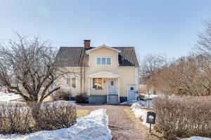 Dragstensgatan 15, Mjälga i Borlänge kommun kom tvåa på Dalarnas Klicktoppen vecka 16. Foto: Christofer Cederberg/Husfoto
