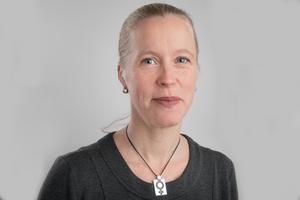Anna Lindqvist, verksamhetschef vid Organisationen Män. Pressbild