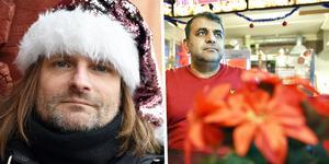 Kent Olsson och Isa Bozdogan kommer att bjuda in folk på gratis mat under julafton.