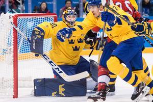 Viktor Fasth höll nollan i OS-premiären mot Norge. Bild: Petter Arvidson/Bildbyrån