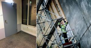 Det var när ett fönsterparti i A-huset på USÖ revs som asbest hittades. Nu har NCC ändrat sina rutiner och låter en specialfirma sköta arbetet.
