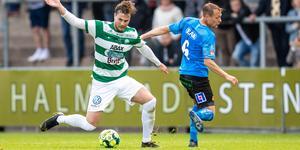 Det är i nuläget osäkert om Jonas Hellgren kan vara med i lördagens match mot Degerfors. Foto: Nicklas Elmrin / Bildbyrån
