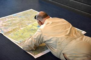 GPS i all ära, en vanlig karta har också sina fördelar.
