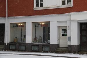 Salong Klipphörnan på Kungsgatan.
