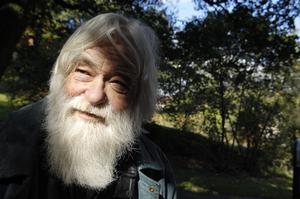 Ebbe Schön är folklivsforskare. Foto: Lars Pehrson.