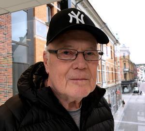 Lars Löfgren, 76 år, pensionär, Sundsvall