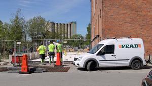 Arbeten pågår vid Steam hotel där restaurangen vill bygga  ut.