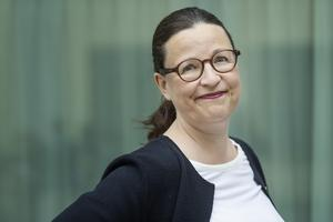 Foto: Stina Stjernkvist,// Utbildningsminister Anna Ekström (S).