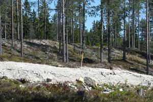 Utstakat och väg på plats men nu krävs ett omtag för ett av områdena på Himmelfjäll efter Byggmästers konkurs.